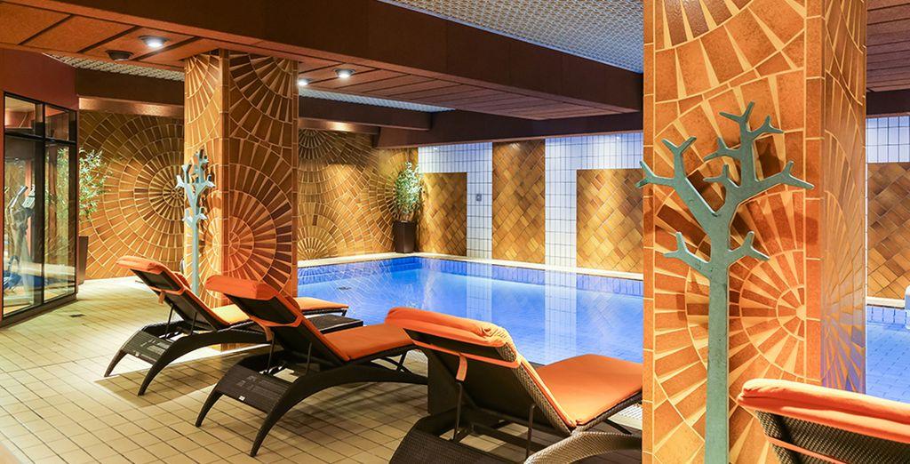 Hôtel haut de gamme avec piscine intérieure et espace détente tout confort