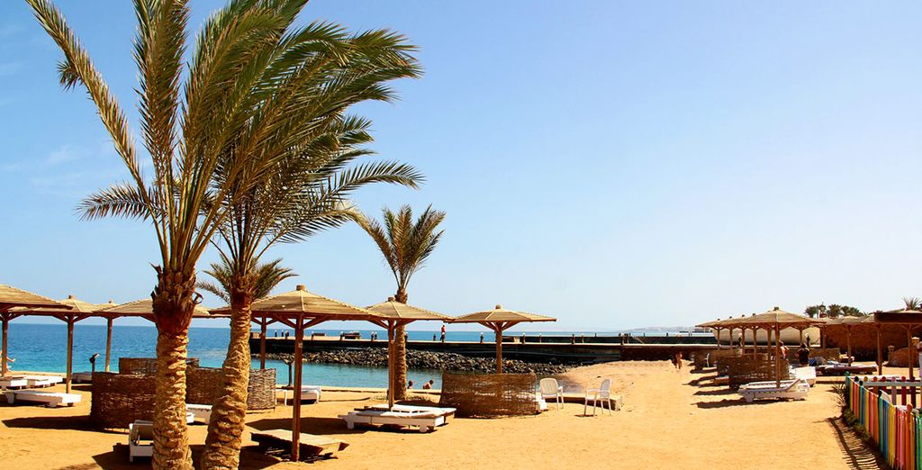Prenez place en bord de mer... - Palm Beach Resort 4* Hurghada
