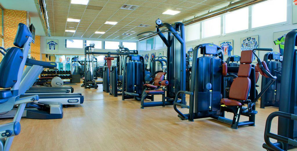 Ou une petite séance de gym !