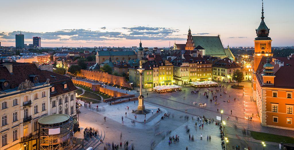 Varsovie a tant à vous offrir...