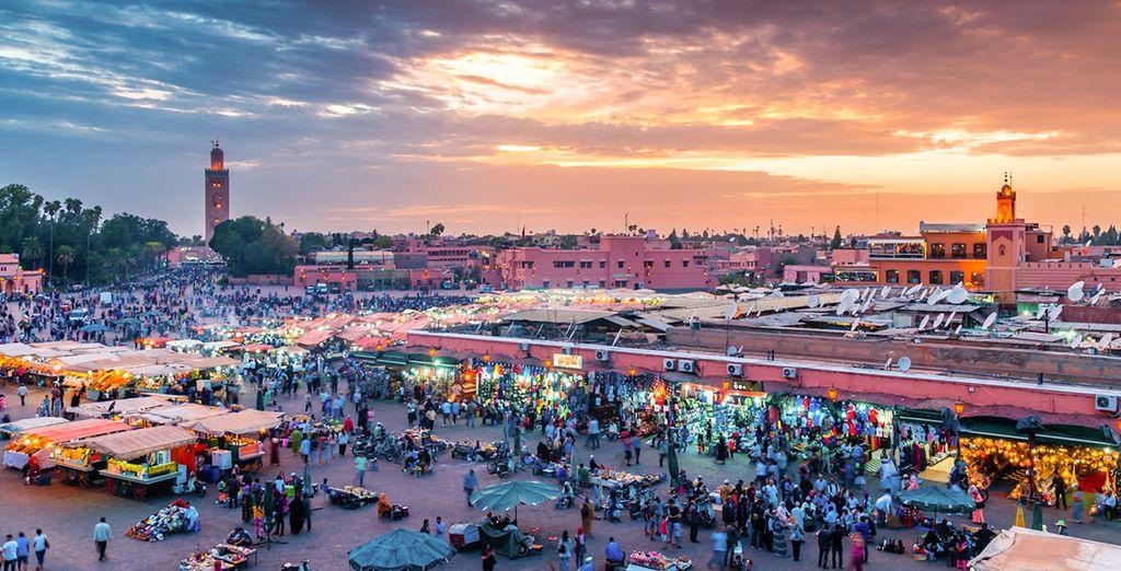 Avant de revenir à votre point de départ : Marrakech