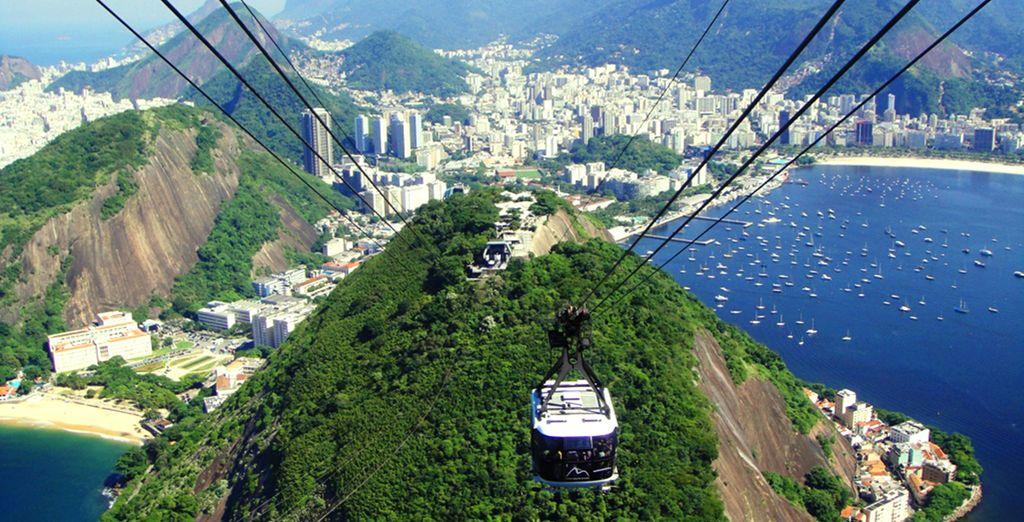 Vous ferez un tour panoramique de la ville et bénéficierez de points de vue spectaculaires