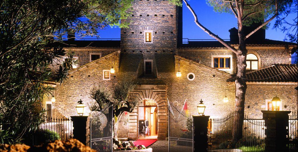 Prenez place dans cet ancien château au cœur du parc naturel Parco di Veio