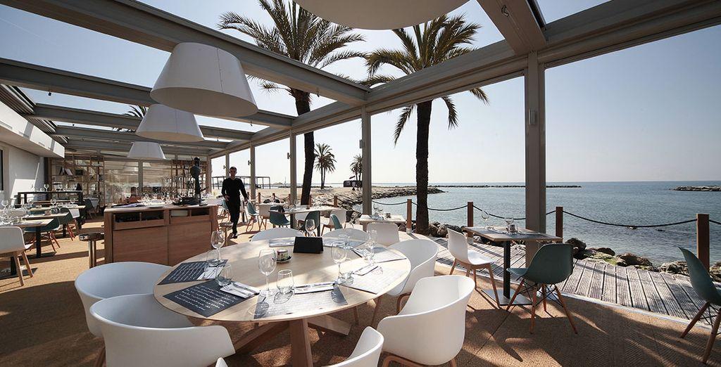 Pour déguster les saveurs méditerranéennes dans un cadre idyllique