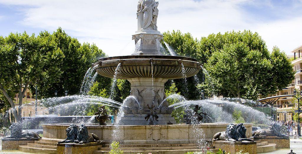 A 1 heure, découvrez la ville d'Aix en Provence