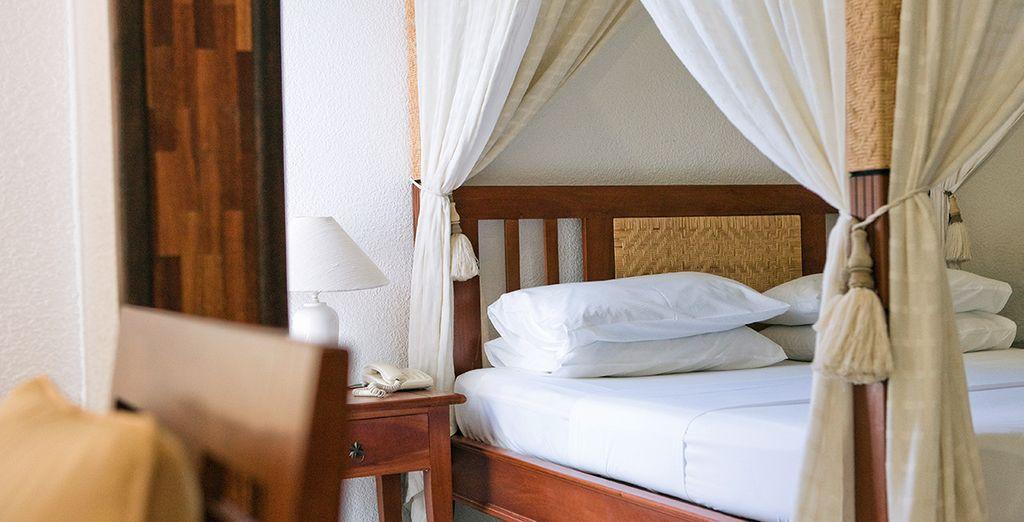 Avant de rejoindre le confort de votre chambre