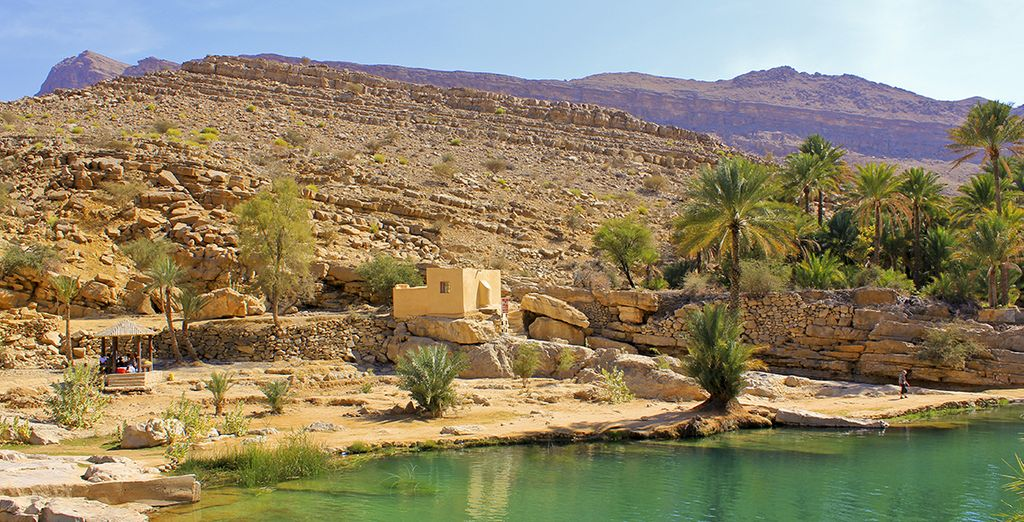 Vous vous rendrez ensuite à Wadi bani Khalid