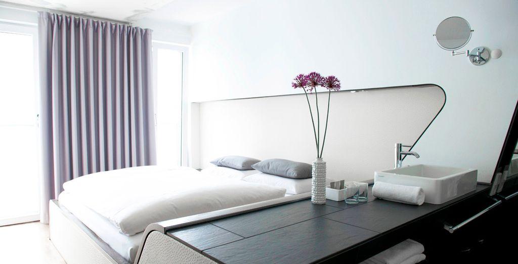 Hôtel Q! Berlin 4* et chambre double tout confort, à proximité de toutes activités