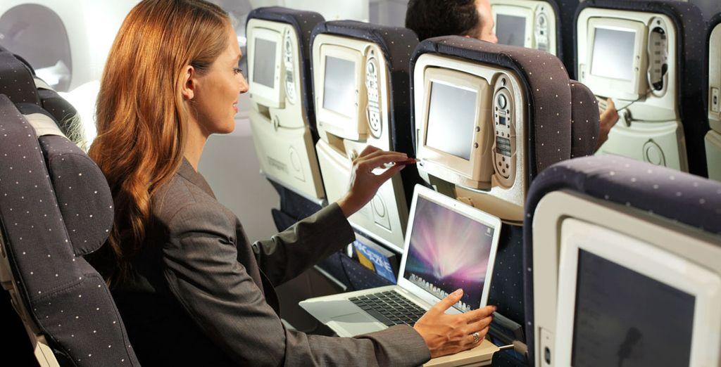 Après un voyage tout confort avec Air France
