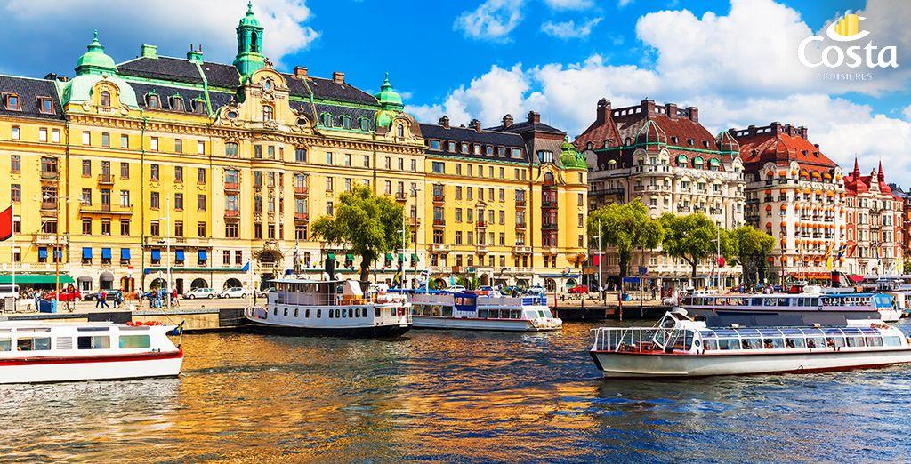 Saint-Petersbourg, Helsinki, Stockholm ! Les ports de la Baltique vous accueillent