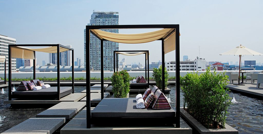 Avant de quitter Bangkok pour Hua Hin, vous pourrez profiter une dernière fois de cette situation exceptionnelle...