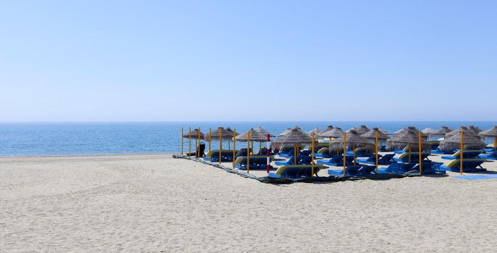 Avec accès direct à la plage de Roquetas de Mar