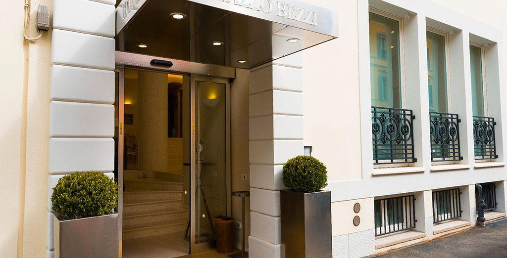 Bienvenue au Palazzo Bezzi 4*