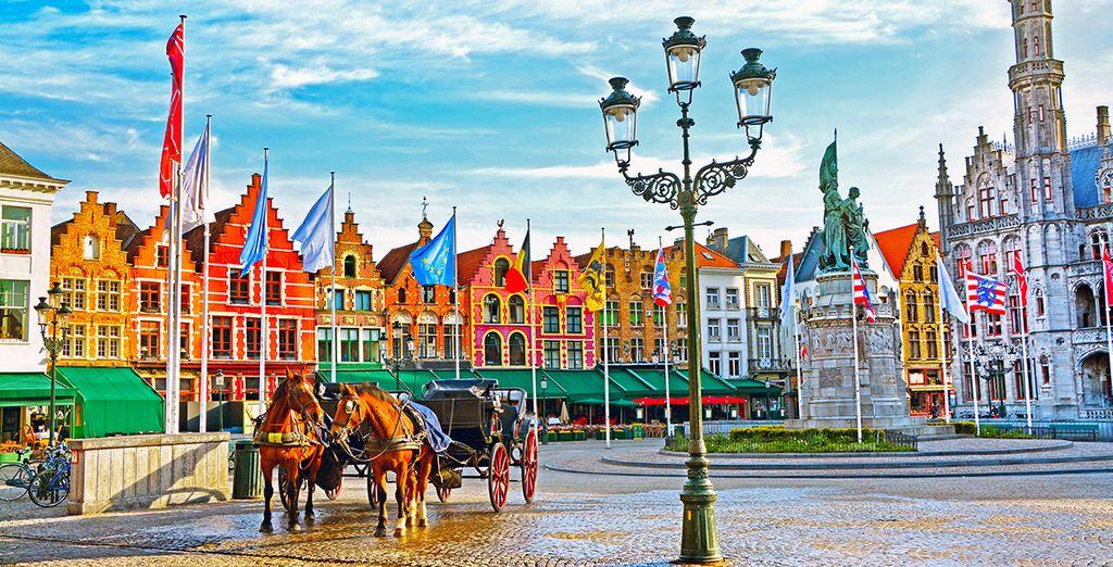 Bruges n'attend que vous !