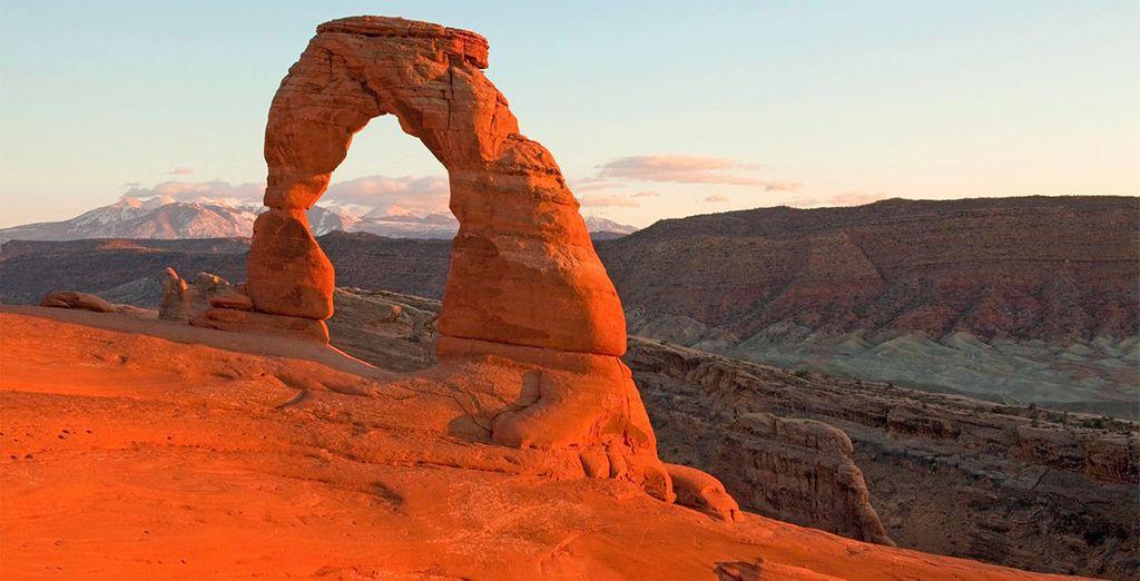 Ou encore la plus grande concentration d'arches naturelles au monde dans le Arches National Park !