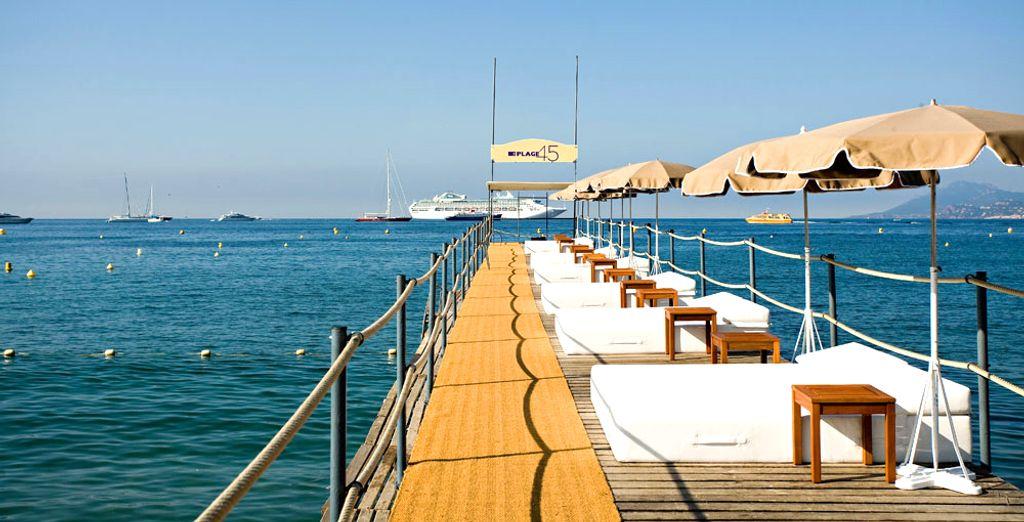 Envie d'un séjour en bord de mer ?  - Le Grand Hôtel Cannes 5* Cannes