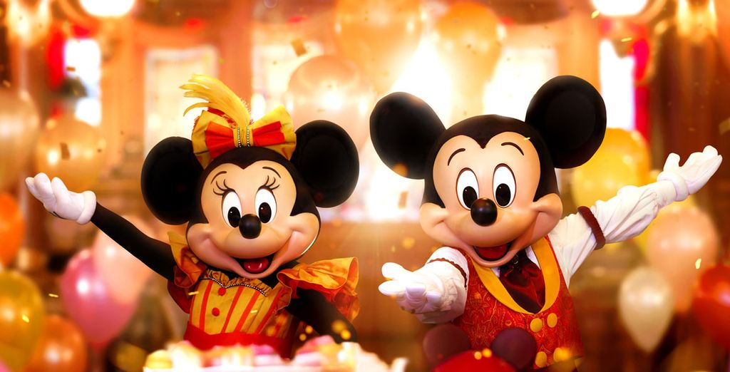Fotografia di Disneyland Paris e Mickey