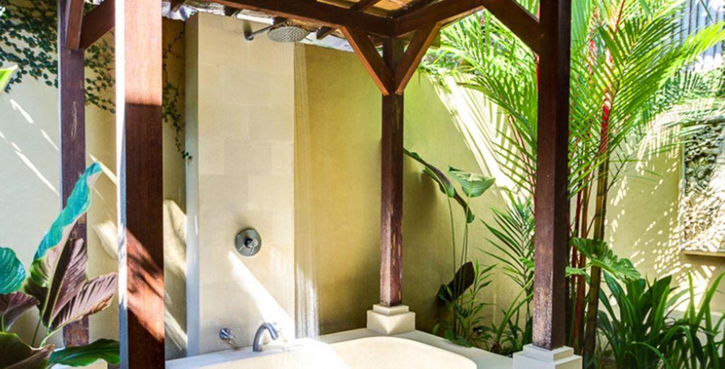 Des salles de bains exotiques