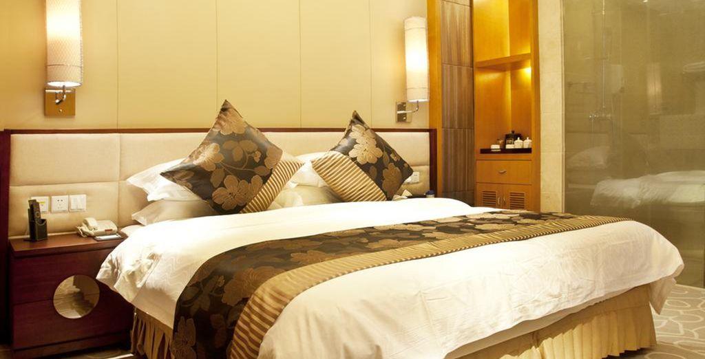 Hôtel de luxe en Chine