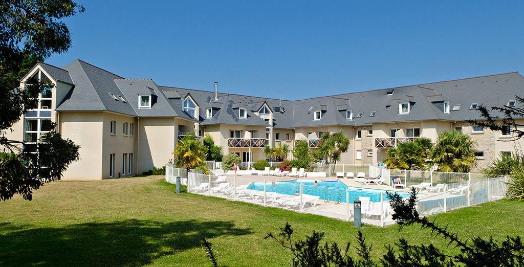 Découvrez la résidence Kermael, en Bretagne !