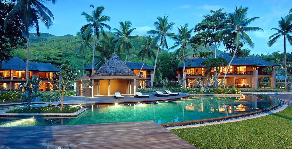 Installez-vous au bord d'une piscine intimiste et agréable... - Constance Ephélia Resort 5* Mahe Island