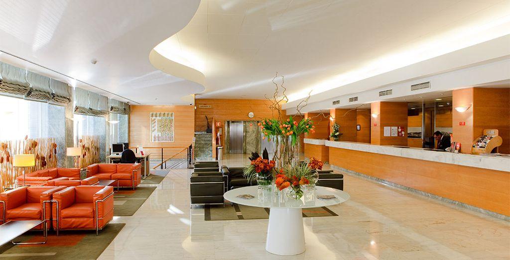 Où vous prendrez place au Roma Hôtel Lisbonne