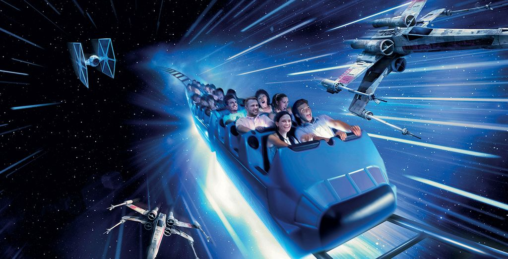 Tandis que Star Wars prendra le contrôle de Space Mountain...