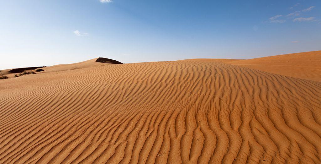 Nuit dans le désert de Whabiba...