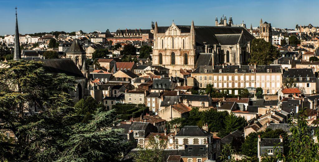 Passez un très bon séjour à Poitiers !