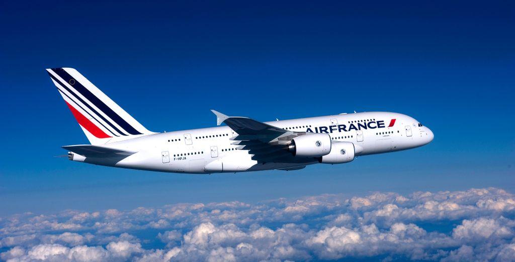 Envolez-vous pour un voyage d'exception en A380 avec Air France