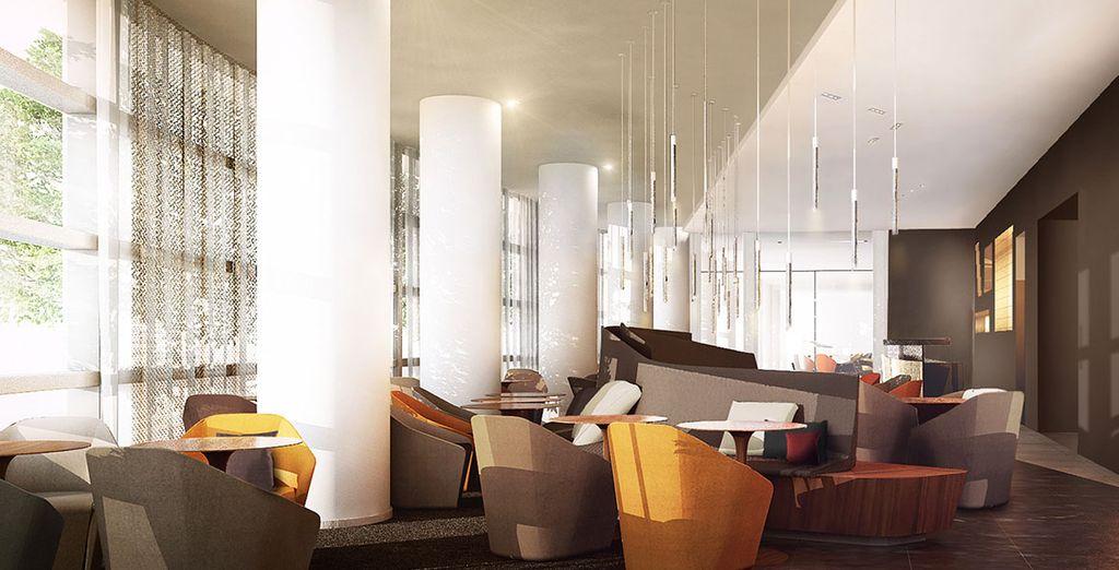 Profitez des espaces communs de cet hôtel d'exception