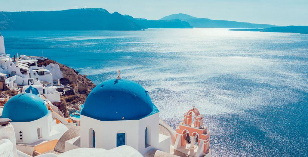 Découvrez les paysages magnifiques de la Grèce