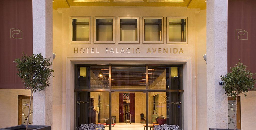 Le temps d'un city-break ensoleillé au Palacio Avenida