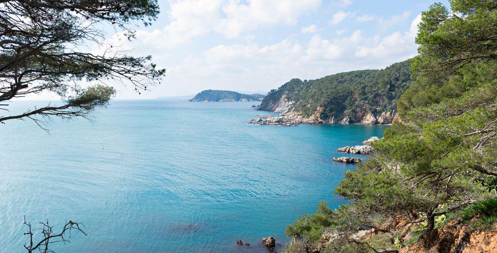 Vous êtes également tout proche de la Costa Brava, à mi-chemin entre mer et montagne