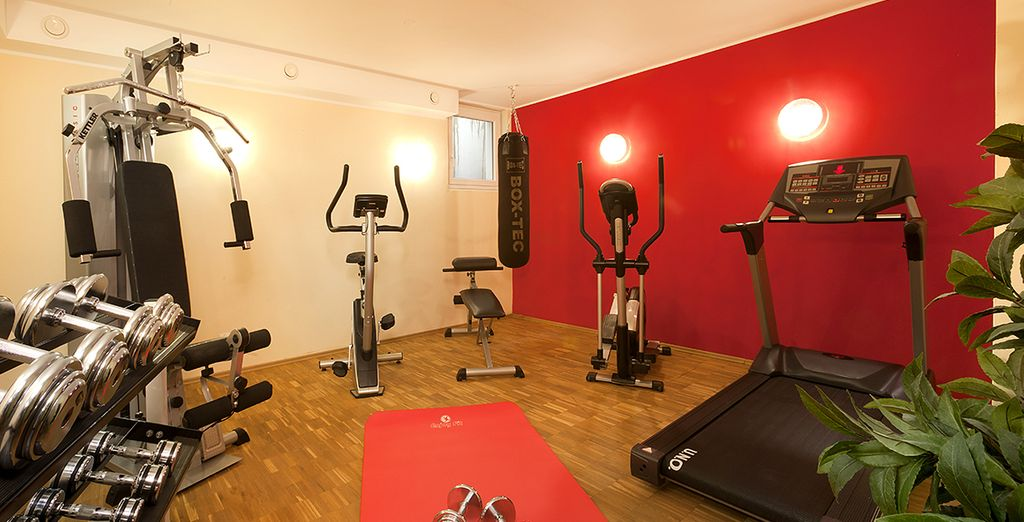 Enfin, pour les plus sportifs, faites une halte dans le centre de fitness