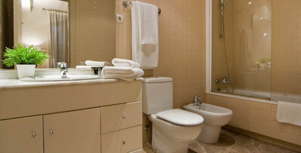 Appartement 6 : La salle-de-bains