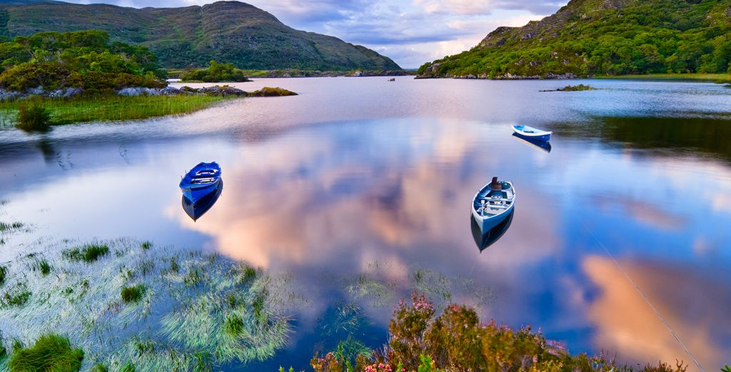 Photographie des lacs de Killarney en Irlande et leurs magnifiques paysages