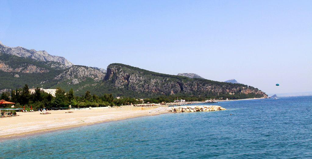 Et plage privée située à 50 mètres