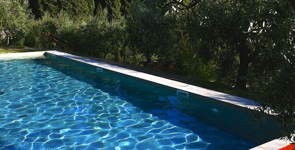 Une superbe piscine