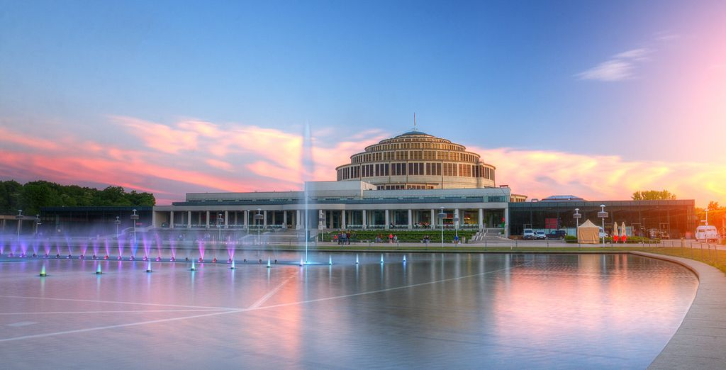 Ou encore visiter la Halle du Centenaire et sa fontaine