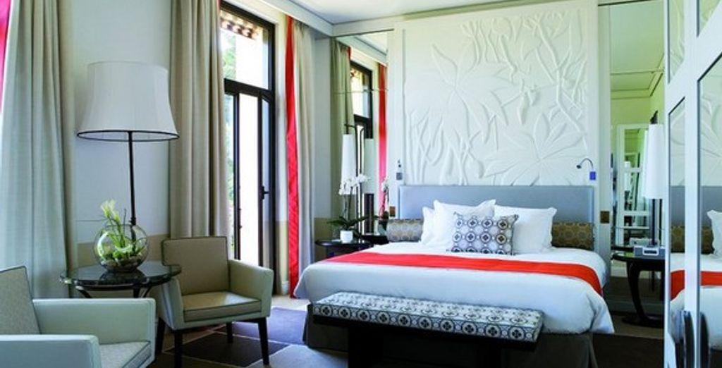 La chambre - Hôtel Royal Riviera ***** - Saint-Jean-Cap-Ferrat - France Saint-Jean-Cap-Ferrat