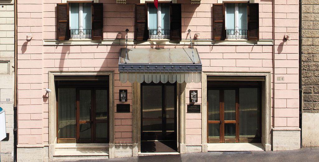 Vous poserez vos valises à l'hôtel Stendhal 4*