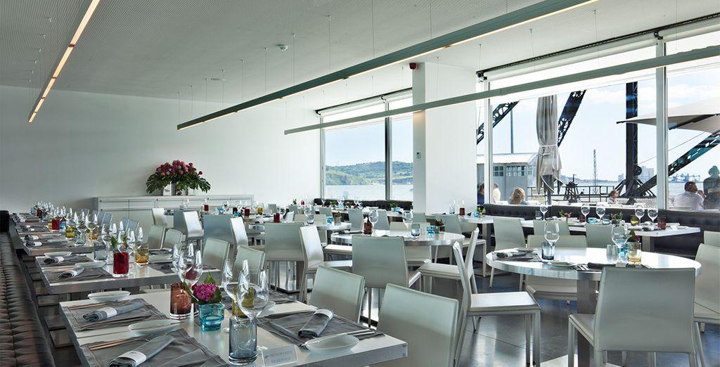La cafeteria Mensagem vous ouvre également ses portes pour une ambiance plus détendue