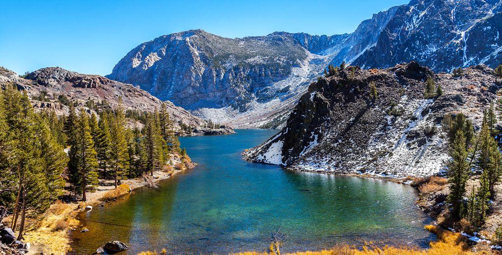 Pour arriver au splendide parc Yosemite