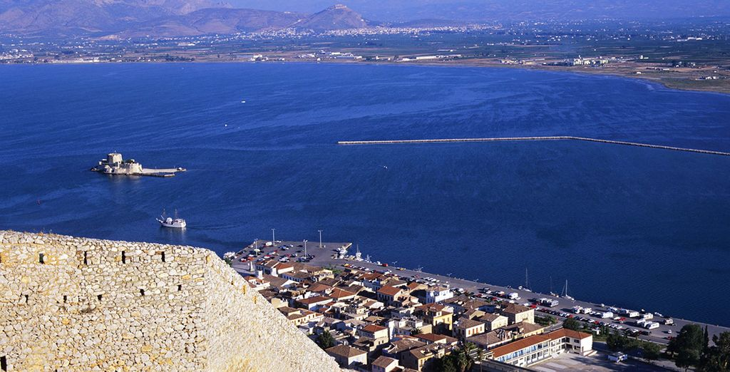 Puis vous irez vers Nafplio - Autotour Grèce Antique Athenes