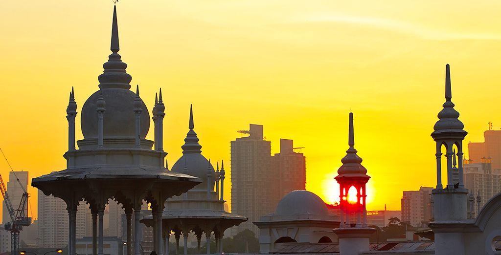 Vous découvrirez Kuala Lumpur