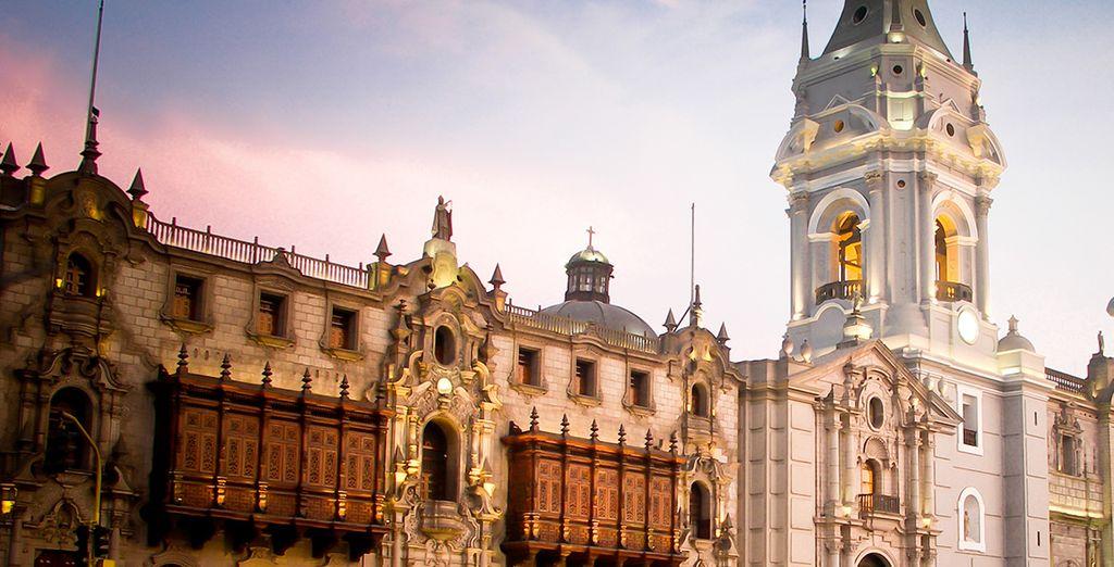 Depuis Lima, capitale du pays... - Circuit Pérou Sur les traces des Incas - 14 jours/12 nuits Lima