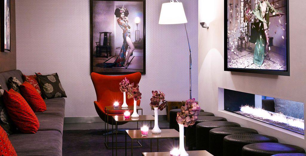 Installez-vous dans un décor cosy & design... - Park Hotel 4* Amsterdam