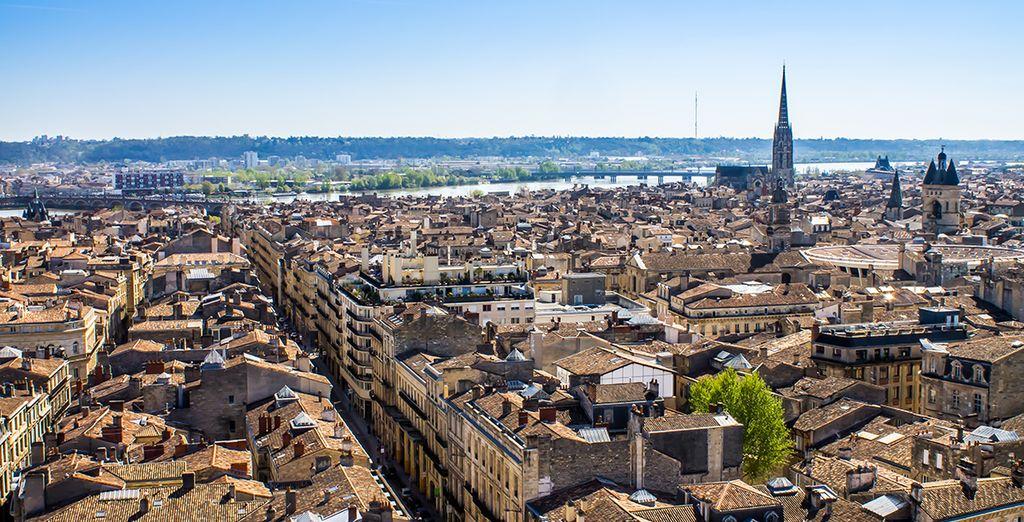 Photographie de la ville de Bordeaux