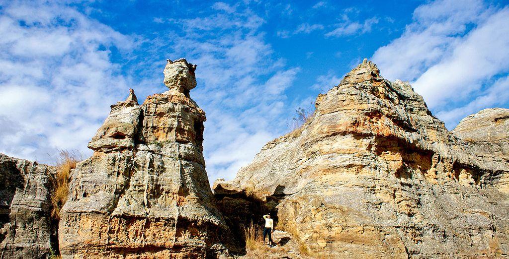 Paysage de Ranohira à Madagascar